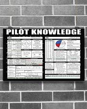 Pilot Knowledge 17x11 Poster poster-landscape-17x11-lifestyle-18