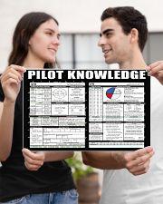 Pilot Knowledge 17x11 Poster poster-landscape-17x11-lifestyle-20