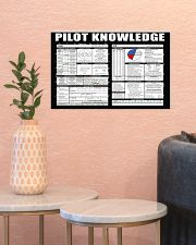 Pilot Knowledge 17x11 Poster poster-landscape-17x11-lifestyle-21