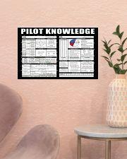 Pilot Knowledge 17x11 Poster poster-landscape-17x11-lifestyle-22