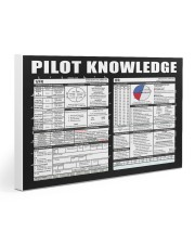 Pilot Knowledge 30x20 Gallery Wrapped Canvas Prints thumbnail