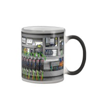 Electrician Electrical Control Panel Color Changing Mug thumbnail