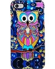 Colorful Owl Phone Case i-phone-8-case
