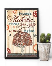 Mechanic Your Safety 11x17 Poster lifestyle-poster-8
