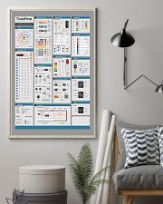 Electrician Electronics Cheat Sheet 24x36 Poster lifestyle-poster-1