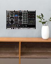 Pilot Gift 17x11 Poster poster-landscape-17x11-lifestyle-24