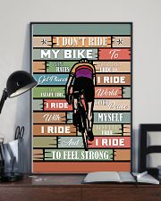 Cycling Ride My Bike 11x17 Poster lifestyle-poster-2