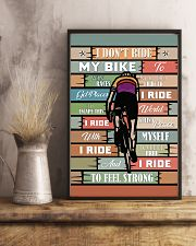Cycling Ride My Bike 11x17 Poster lifestyle-poster-3