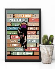 Cycling Ride My Bike 11x17 Poster lifestyle-poster-8