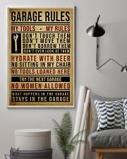 Mechanic Garage Rules 11x17 Poster lifestyle-poster-1