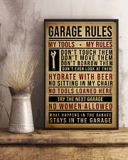 Mechanic Garage Rules 11x17 Poster lifestyle-poster-3