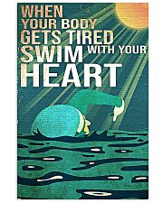 Swimming - Swim With Your Heart 11x17 Poster front