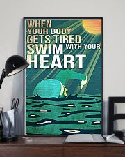 Swimming - Swim With Your Heart 11x17 Poster lifestyle-poster-2
