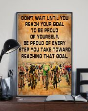 Cycling Be Proud Of Every Step You Take 11x17 Poster lifestyle-poster-2