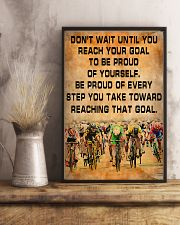 Cycling Be Proud Of Every Step You Take 11x17 Poster lifestyle-poster-3