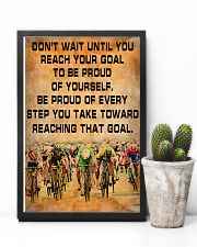Cycling Be Proud Of Every Step You Take 11x17 Poster lifestyle-poster-8