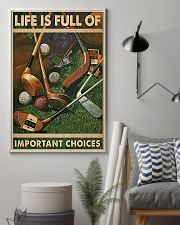 Important Choices Golf 11x17 Poster lifestyle-poster-1