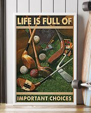 Important Choices Golf 11x17 Poster lifestyle-poster-4