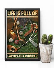 Important Choices Golf 11x17 Poster lifestyle-poster-8
