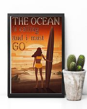 Surfing - The Ocean Is Calling And I Must Go 11x17 Poster lifestyle-poster-8