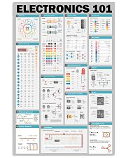Electrician Electronics 101 11x17 Poster front