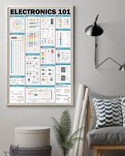 Electrician Electronics 101 11x17 Poster lifestyle-poster-1
