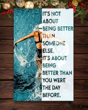 Swimmers Being Better Than You Were The Day Before 11x17 Poster aos-poster-portrait-11x17-lifestyle-22