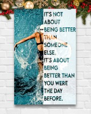 Swimmers Being Better Than You Were The Day Before 11x17 Poster aos-poster-portrait-11x17-lifestyle-23