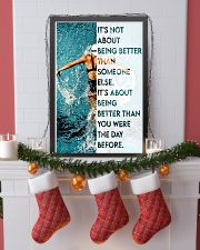 Swimmers Being Better Than You Were The Day Before 11x17 Poster lifestyle-holiday-poster-4