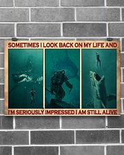 Scuba Diving I Am Still Alive  17x11 Poster poster-landscape-17x11-lifestyle-18