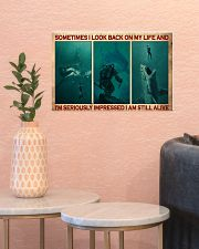 Scuba Diving I Am Still Alive  17x11 Poster poster-landscape-17x11-lifestyle-21
