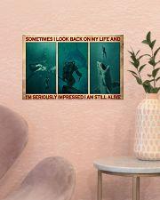 Scuba Diving I Am Still Alive  17x11 Poster poster-landscape-17x11-lifestyle-22