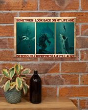 Scuba Diving I Am Still Alive  17x11 Poster poster-landscape-17x11-lifestyle-23