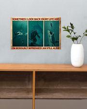 Scuba Diving I Am Still Alive  17x11 Poster poster-landscape-17x11-lifestyle-24