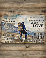 Hiking - Today Is A Good Day To Have A Great Day 17x11 Poster aos-poster-landscape-17x11-lifestyle-14