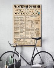 Architect Knowledge 16x24 Poster lifestyle-poster-7