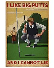 Golf I Like Big Putts And I Cannot Lie 11x17 Poster front