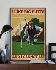 Golf I Like Big Putts And I Cannot Lie 11x17 Poster lifestyle-poster-2