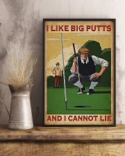 Golf I Like Big Putts And I Cannot Lie 11x17 Poster lifestyle-poster-3