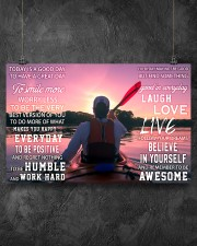 Kayaking Today Is A Good Day 17x11 Poster aos-poster-landscape-17x11-lifestyle-12
