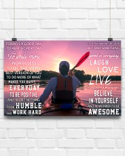 Kayaking Today Is A Good Day 17x11 Poster aos-poster-landscape-17x11-lifestyle-17