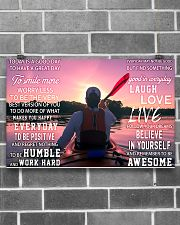Kayaking Today Is A Good Day 17x11 Poster poster-landscape-17x11-lifestyle-18