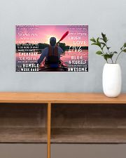 Kayaking Today Is A Good Day 17x11 Poster poster-landscape-17x11-lifestyle-24