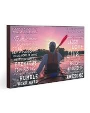 Kayaking Today Is A Good Day 30x20 Gallery Wrapped Canvas Prints thumbnail