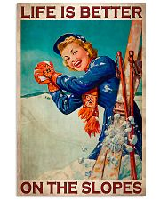 Skiing Better On The Slopes 11x17 Poster front