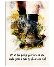 Hiking - All The Paths You Take In Life 11x17 Poster front