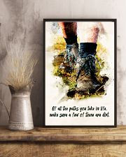 Hiking - All The Paths You Take In Life 11x17 Poster lifestyle-poster-3