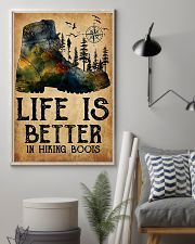 Hiking Life Is Better In Hiking Boots 11x17 Poster lifestyle-poster-1