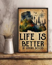 Hiking Life Is Better In Hiking Boots 11x17 Poster lifestyle-poster-3