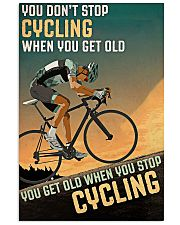 Cycling Don't Stop 11x17 Poster front